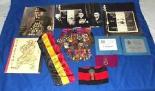 WW1 DSO Belgian Group Of 31 Medals & Miniatures & Documents Robert Putteman
