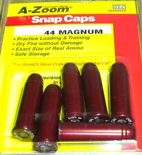 A-Zoom Precision Metal Snap Caps 44 Rem Magnum #16120  6 per Package new !