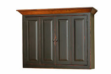 Amish Made Flat Screen TV Wall Mount Cabinet FREE SHIPPING! Hand Finished!