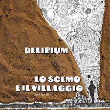 DELIRIUM Lo scemo e il villaggio (LTD.ED.RED VINYL) LP italian prog