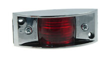 Grote 46892 Chrome Armored Clearance Marker Light(s) - RED