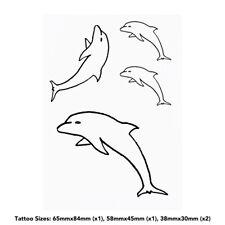'Jumping Dolphin' Temporary Tattoos (TO013586)