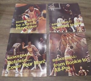 Complete Set of Vintage How To Be Basketball Player Books 1973 by Don Smith NBA