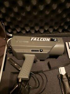 kustom falcon police radar gun w/case Excellent condition
