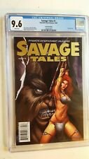 SAVAGE TALE # 1 CGC 9.6 **VERY RARE** GOLD FOIL EDITION ** 1/50 (2007) DYNAMITE