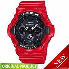GA201RD-4A Casio G-Shock Men's  Red With Black Dial Analog-Digital Watch