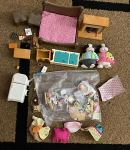 calico critters Lot furniture Accessories Figures