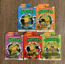 Hot Wheels Teenage Mutant Ninja Turtles Set of 5