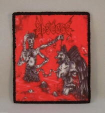 ABSCESS Thirst for Blood, Hunger for Flesh (BLACK Border Printed Patch) (New)