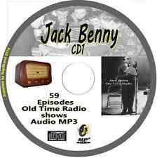Jack Benny 59 OTR Old Time Radio Episodes Audio MP3 on CD