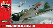 Brand New Airfix 1:72nd Scale Mitsubishi A6M2b-21 Zero Model Kit.