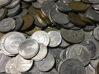 100 Gramm Restmünzen/Umlaufmünzen DDR