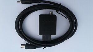 OFFICIAL NINTENDO 64 N64 RF MODULATOR AV UNIT BLOCK NUS-003 + New RF Cable