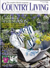 Country Living magazine Simple craft projects Modern style Garden special issue