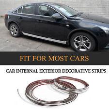 15M*15mm Car Window Grille Side Chrome DIY Moulding Trim Strips Kits for Honda