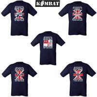 Kombat Tactical Mens God Created British Army Navy RAF Royal Marine Paras Tshirt