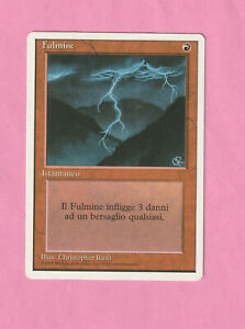 Magic MTG - Fulmine / Lightning Bolt - 4th édition
