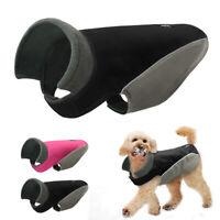 Hundemantel für Kleine Hunde Reflektierend Winter Warm Weste Hundeanzug Rosa