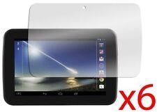 "Hellfire Trading 6x Tesco Hudl 7"" LCD Screen Protector Cover Guard"