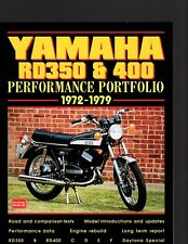 Yamaha RD350 & 400 Performance Portfolio 1972-1979 by Brooklands Books