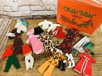 Vintage Shillman TRIKI MIKI Dollikin OUTFITS Fashion Shoes Clothing Case Lot