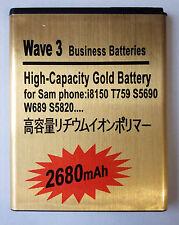 Akku für Samsung Galaxy W Wave 3   battery   i8150 s8600   2680mAh   Neu New