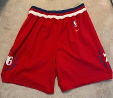 Philadelphia 76ers Authentic Nike Throwback 1964 basketball shorts size Xl
