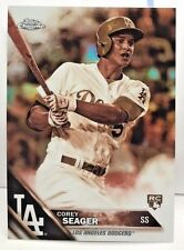 Corey Seager 2016 Topps Chrome SEPIA Refractor RC #150 SP - LOS ANGELES DODGERS