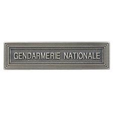 AGRAFE GENDARMERIE NATIONALE NEUVE POUR MEDAILLE ORDONNANCE LS