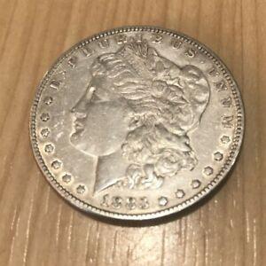 USA  America Silver Morgan Dollar 1883