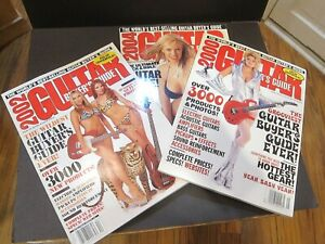 2000, 2002 & 2004 Guitar Buyer's Guide Model Listings Values LOT of 3