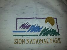 Vintage Zion National Park tank top Shirt MEDIUM 38-40 hipster springdale utah