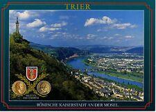 Postkarte Trier Fotokunst Schwalbe: 2/5 Römische Kaiserstadt an der Mosel