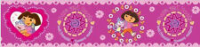 DORA THE EXPLORER & BOOTS best friends  peel & stick WALLPAPER BORDER wall decor