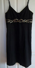 STUNNING BLACK DRESS  BY b.young SIZE XL2.95 PERFECT FOR CHRISTMAS