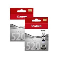 Canon PGI-520BK (Yield: 350 Pages) Black Ink Cartridge Pack of 2