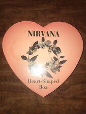 Nirvana Heart Shaped Box 8 Cd Set Kurt Cobain Rare Out Of Print 90s Grunge