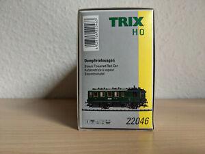 Trix 22046 Dampftriebwagen H0 OVP