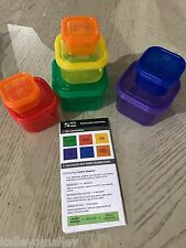 Meal Prep Haven 7 Piece Portion Control Container Kit w/ Guide Protein Shaker(G)