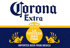 Corona Poster, La Cerveza Mas Fina, Mexican Beer, Mexico