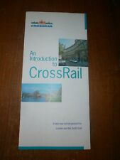 British Rail An Introduction To Crossrail leaflet March 1995