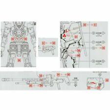 For Bandai MG 1/100 GN-002 Gundam Dynames Model Kit DIY Water Decal Stickers