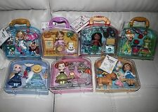"New LOT ! Set of 7 Disney Animators Collection Mini Doll 5"" Play Set - Playsets"
