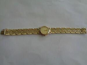 Damenuhr  585 /375 Gelbgold