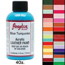 Angelus Acrylic Leather Paint 4 Oz. Various Colors U-MAIN