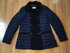 Tommy Hilfiger Down Jacket Coat Womans Large Button Up Puffer