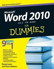 Word 2010 All-in-One For Dummies-ExLibrary