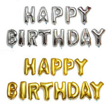 Happy Birthday Foil Balloon Letter Set