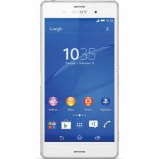 "Sony Xperia Z3 D6653 16 Go/3 Go RAM Désimlocké GSM 4G LTE 5,2"" Blanc Téléphone"