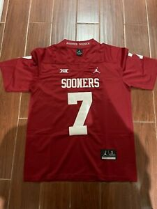 Spencer Rattler Jersey Oklahoma Sooners Sizes Small - 2XL